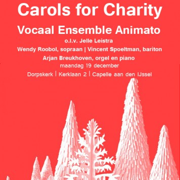 Carols for Charity poster